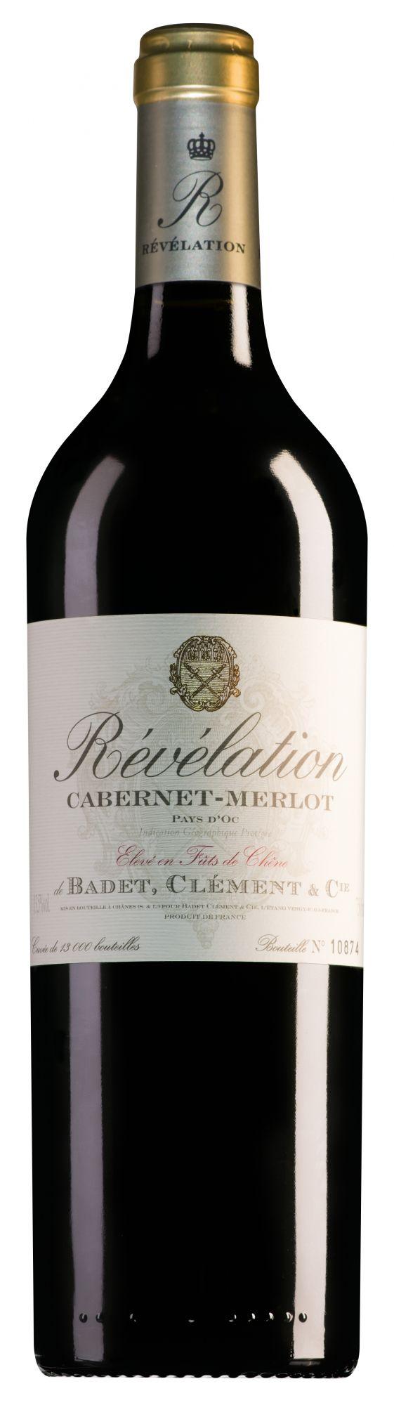 Révélation Pays d'Oc Cabernet-Merlot