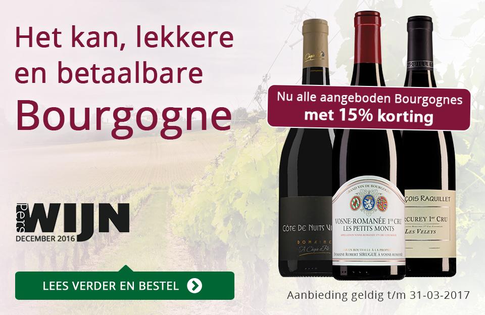 Het kan, lekkere en betaalbare Bourgogne - paars