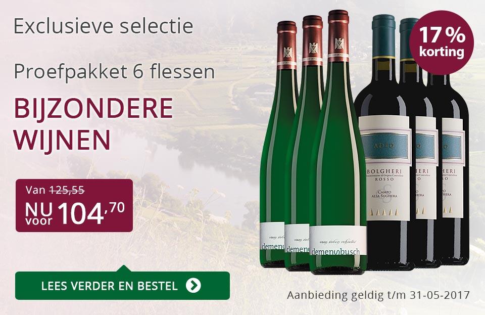 Proefpakket bijzondere wijnen (104,70) - paars