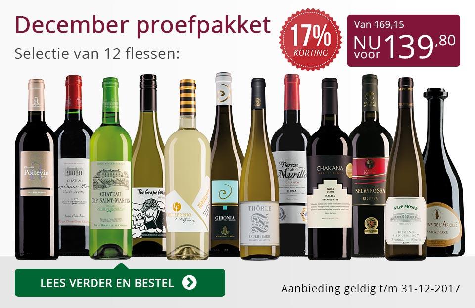 Proefpakket wijnbericht december (139,80) - paars