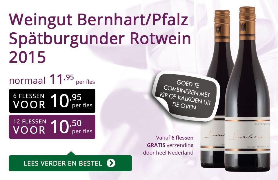 Weingut Bernhart/Pfalz Spätburgunder Rotwein