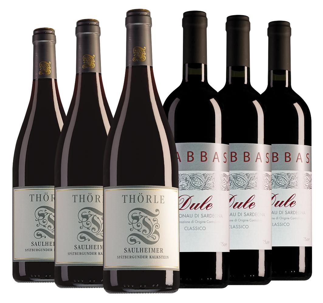 Proefpakket bijzondere wijnen februari (6 flessen)