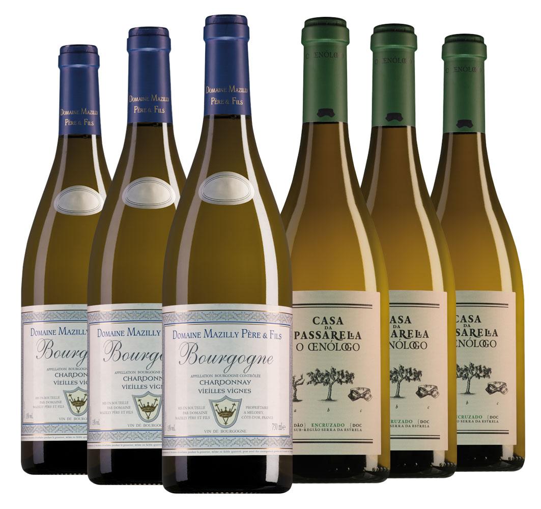 Proefpakket bijzondere wijnen april (6 flessen)