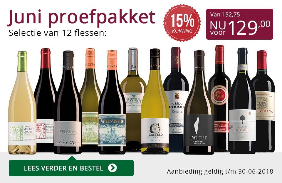 Proefpakket wijnbericht juni 2018 (129,00) - paars