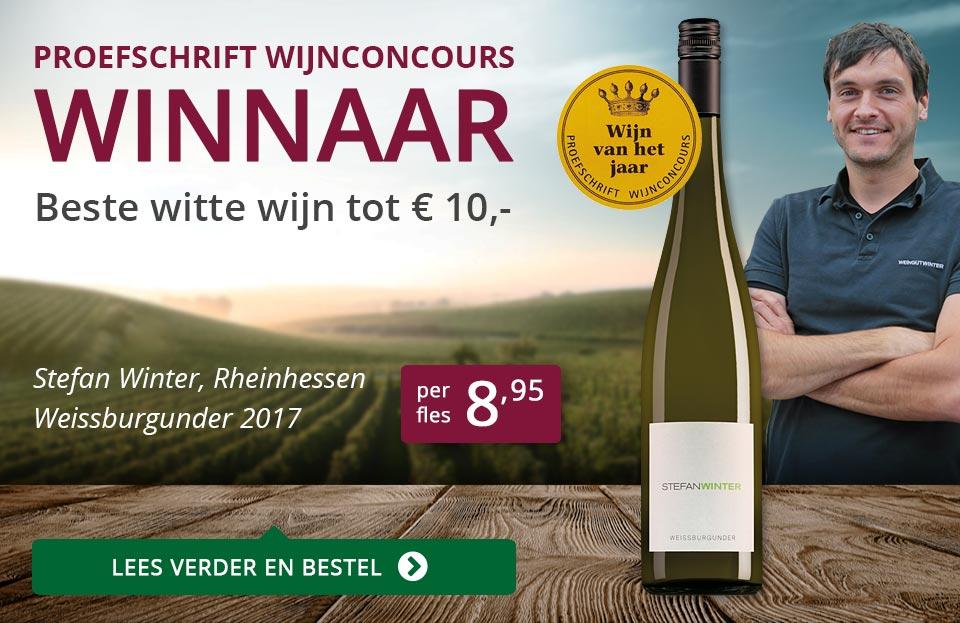 Proefschrift Wijnconcours 2018: Stefan Winter - paars