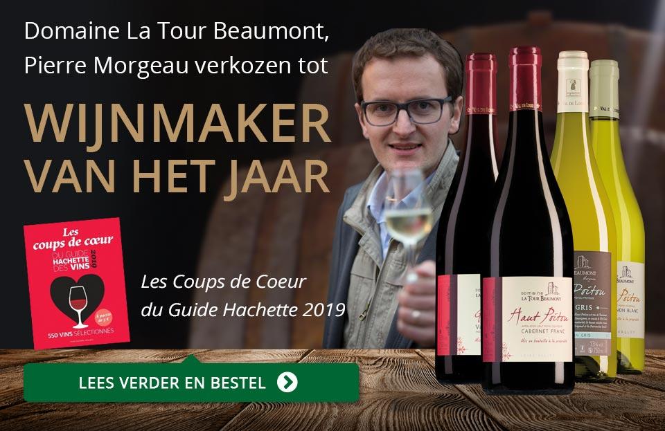 Wijnmaker van het jaar - Domaine La Tour Beaumont