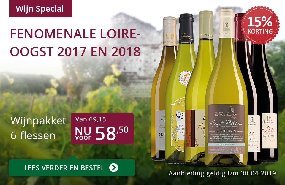 Wijnspecial Loire wijnen- paars