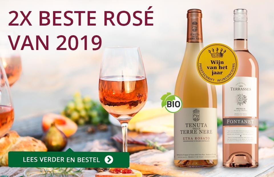 Proefschrift Wijnconcours 2019: Rosé van het Jaar - paars
