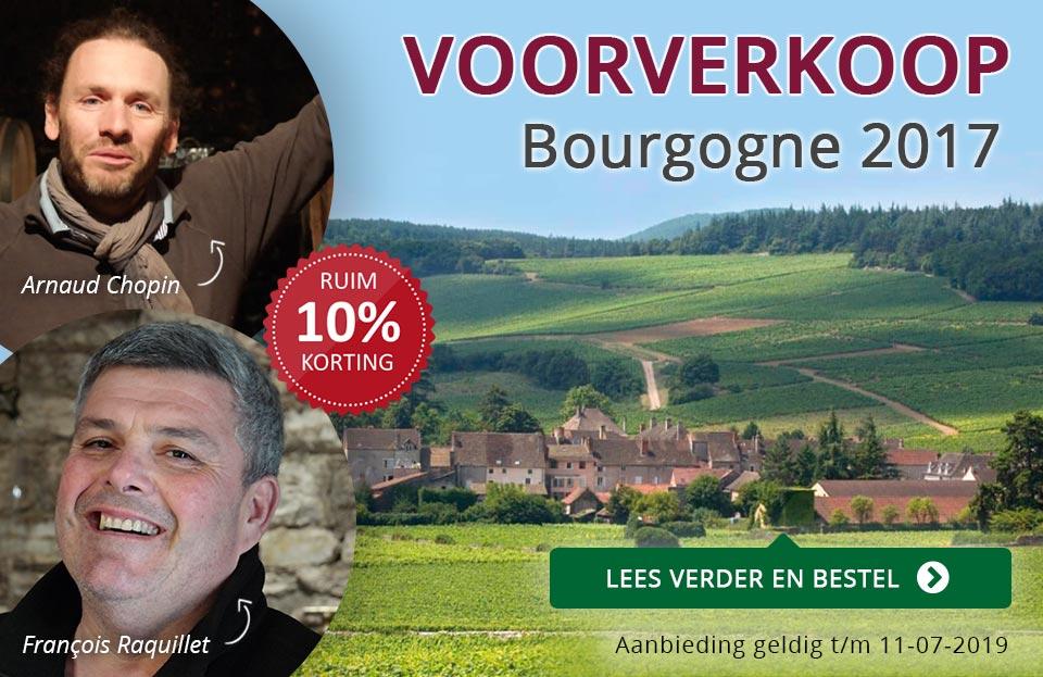 Voorverkoop Bourgogne 2017 - Raquillet en Chopin - paars