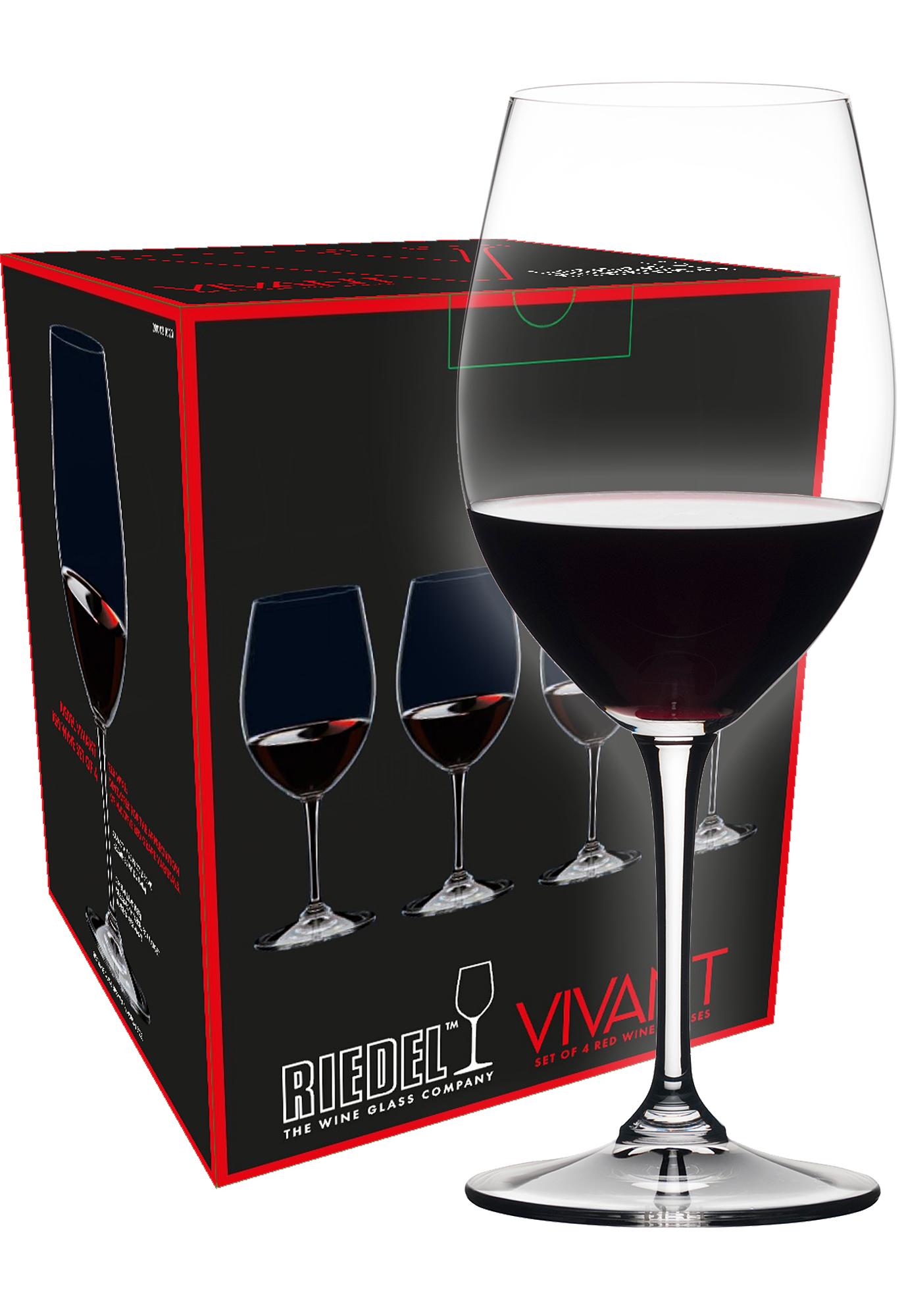 Riedel Vivant Tasting Red wijnglas (set van 4 voor € 34,80)
