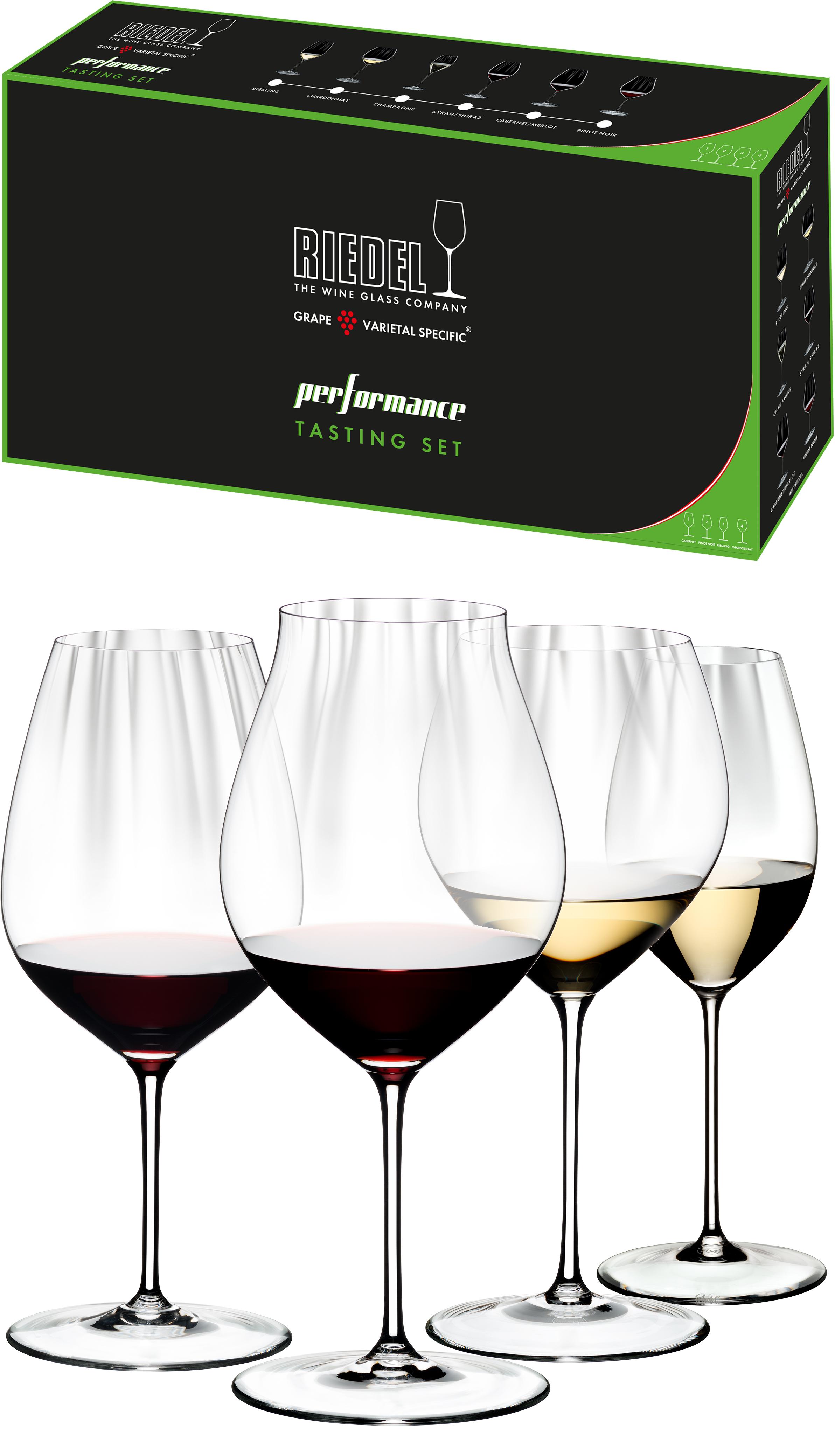 Riedel Performance Tasting Set wijnglazen (set van 4 voor € 89,90)