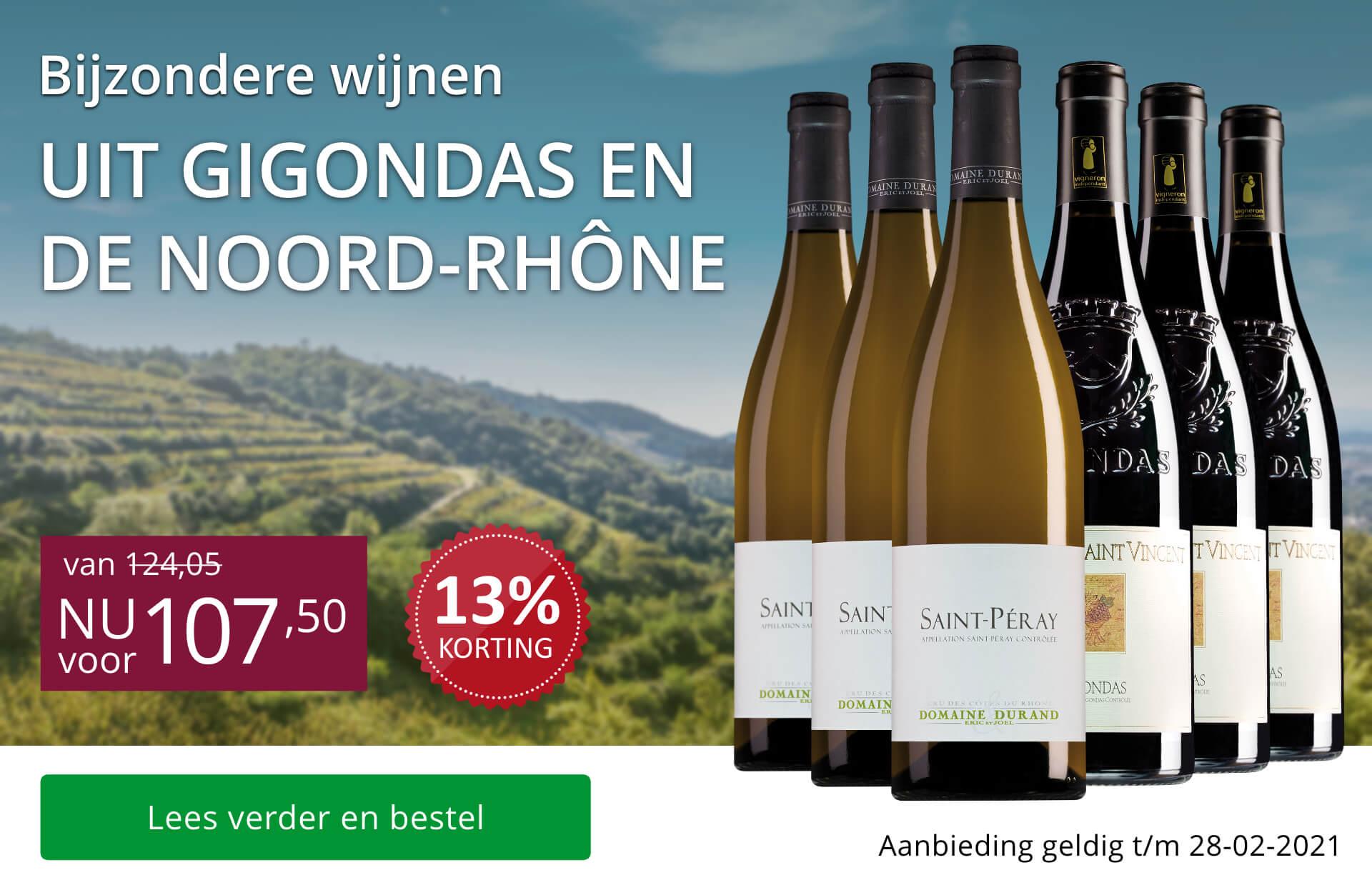 Wijnpakket bijzondere wijnen februari 2021 (107,50)-paars