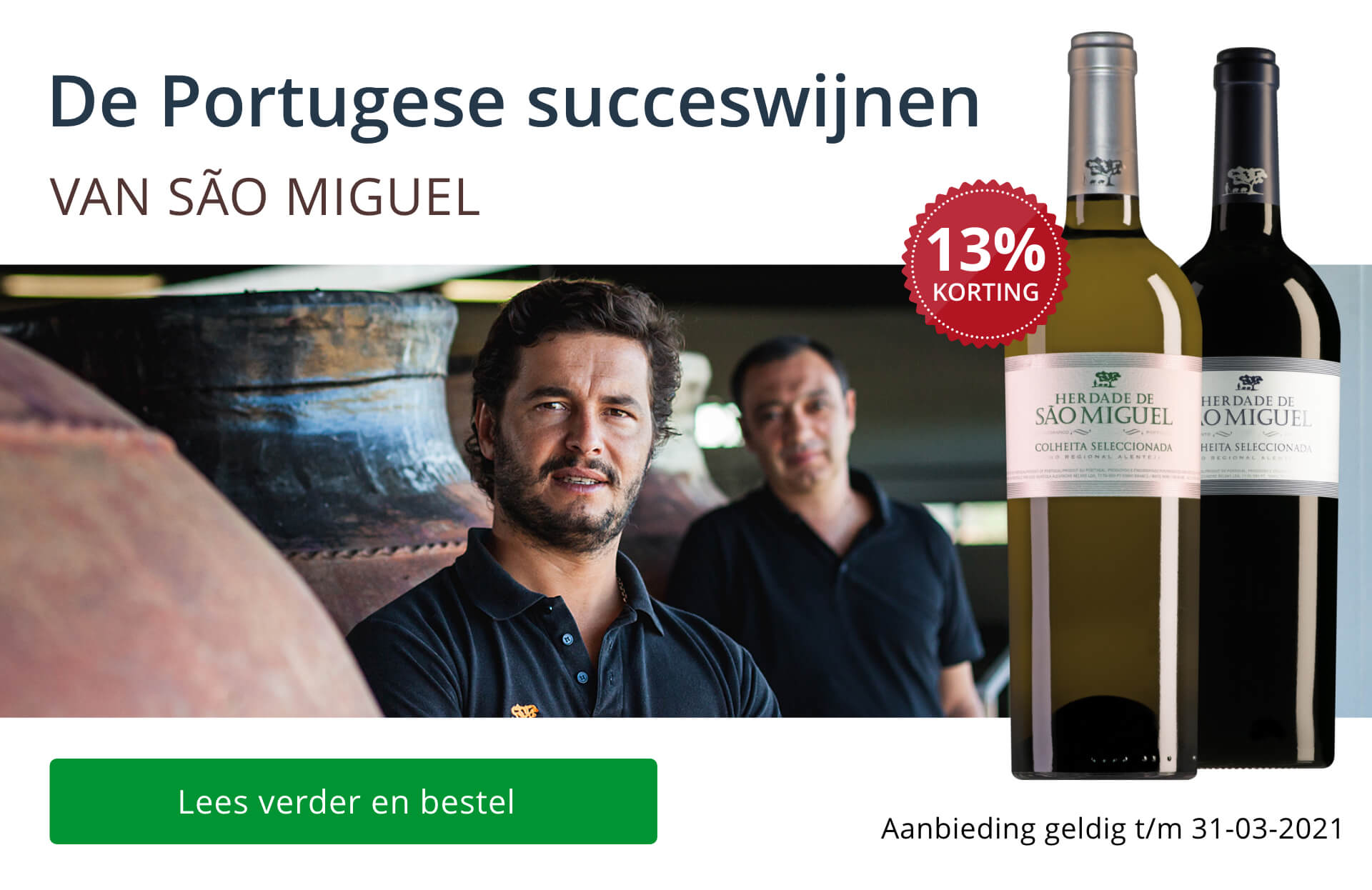 De Portugese succeswijnen van São Miguel