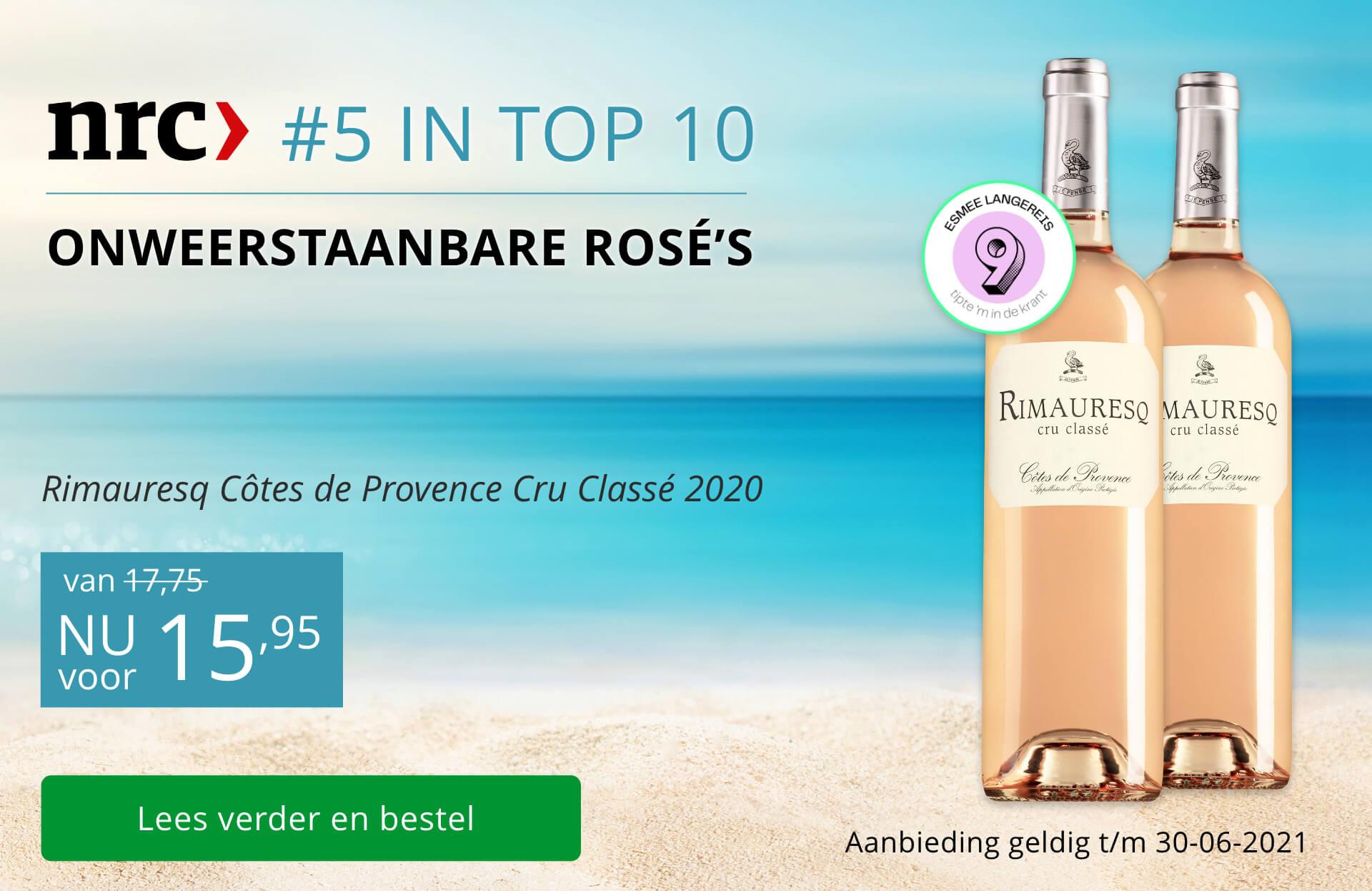 NRC - Domaine de Rimauresq Côtes de Provence Cru Classé Rosé 2020