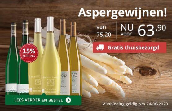 Wijn bij asperges!